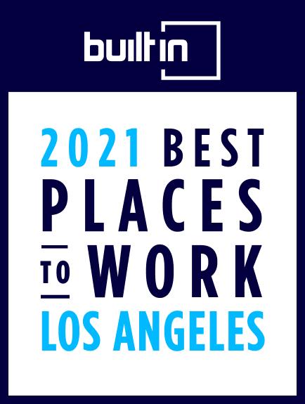 Best Places to Work 2021 - LA